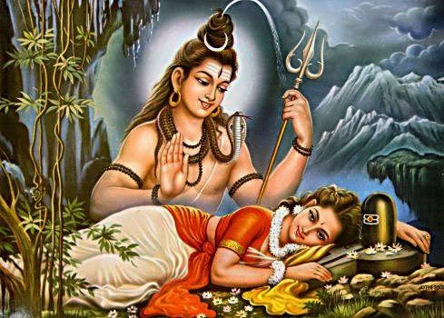 Shiva-and-Parvati